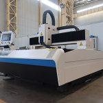 1000w 1500 x 3000mm آلات قطع الصفائح المعدنية بالليزر مع الليزر الألياف ipg