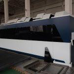 1000 واط الفولاذ المقاوم للصدأ الكربون الصلب الحديد cnc الصفائح المعدنية ألياف الليزر آلة القطع