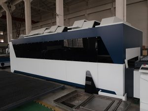 1000W الفولاذ المقاوم للصدأ الكربون الصلب الحديد المعادن التصنيع باستخدام الحاسب الآلي ورقة الألياف المعدنية آلة القطع بالليزر السعر للبيع
