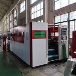 4MM الفولاذ المقاوم للصدأ التلقائي ورقة الحديد الألياف الليزر آلة قطع معدنية للبيع