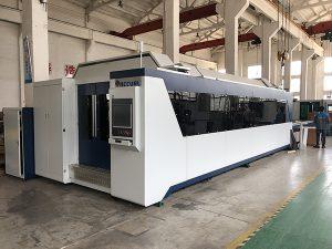 500W 750W 1000W 2000W الفولاذ المقاوم للصدأ الكربون الصلب الألياف المعدنية آلة القطع بالليزر 1500 * 3000MM