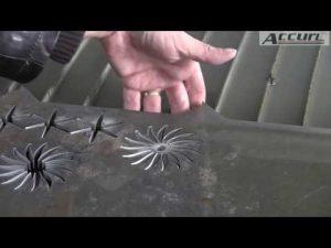5D 5 محور اتيرجيت CNC آلة قطع المياه النفاثة باستخدام الحاسب الآلي آلة قطع معدنية سميكة