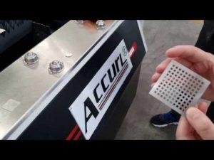 ACCURL 700W IPG الألياف آلة القطع بالليزر لقطع الصفائح المعدنية CNC الليزر | ACCURL® الليزر الذكي