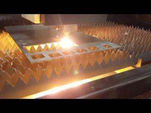 قطع الألياف بالليزر ACCURL 12 مم مع آلة قطع الصفائح المعدنية IPG 2KW بالليزر