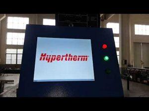 قطع البلازما CNC وآلة القطع باللهب OXY مع بلازما Hypertherm HyPerformance Plasma HPR400XD