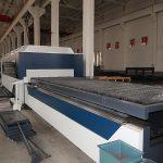 الصين عالية الكفاءة باستخدام الحاسب الآلي raycus / ماكس / IPG الفولاذ المقاوم للصدأ آلة القطع بالليزر مع fibe lase