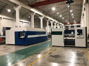 الصين المورد 3015 الصفائح المعدنية آلة القطع بالليزر 1000W 1500W آلة القطع بالليزر للمعادن