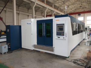 عالية الكفاءة 2000w الكربون الصلب ألياف الليزر آلة القطع ، آلة الليزر الألياف ل غير القابل للصدأ