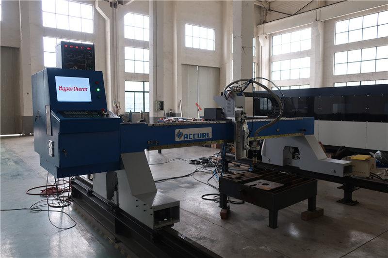الحديد / الفولاذ المقاوم للصدأ قطع البلازما لهب قطع معدات مخصصة التحكم cnc