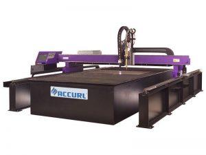 أفضل سعر الفولاذ المقاوم للصدأ التصنيع باستخدام الحاسب الآلي آلة قطع البلازما