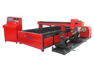 الآلات المعدنية باستخدام الحاسب الآلي البلازما أنبوب مربع آلة القطع ، CNC قطع الأنابيب
