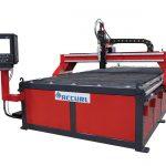 الجدول cnc قطع البلازما آلة / منخفضة التكلفة cnc قطع معدنية من آلة البلازما