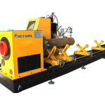 CNC البلازما لقطع الأنابيب المربعة من 40x40mm إلى 100x100mm / أنبوب البلازما القاطع