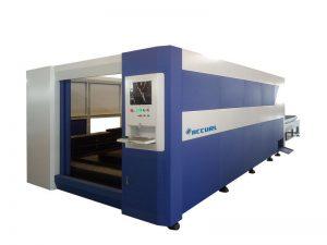 Co2 150 واط ورقة المقاوم للصدأ الحديد معدن cnc رخيصة ليزر آلة قطع معدنية