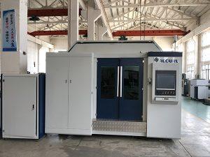 قطع معدنية 500 واط الألياف الليزر آلة الصين مع حافة السلس المحافظ