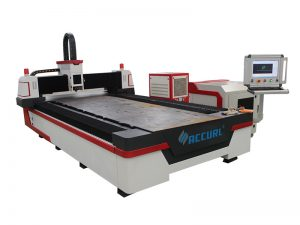 3 محور التصنيع باستخدام الحاسب الآلي الألياف الليزر آلة قطع التصنيع باستخدام الحاسب الآلي المعادن الليزر القاطع ل 32 MM الصلب الطري
