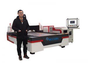 500W الألياف آلة القطع بالليزر للصفائح المعدنية وأنبوب