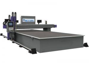 التصنيع باستخدام الحاسب الآلي ميلر آلة قطع البلازما الشعلة 16MM الصلب / الحديد للبيع