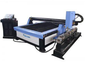 البلازما جي ورقة آلة قطع ، مستطيلة أنبوب الهواء CNC البلازما القاطع للبيع