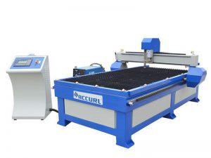 الفولاذ المقاوم للصدأ المعدن آلة قطع البلازما / التصنيع باستخدام الحاسب الآلي آلة قطع البلازما الصغيرة