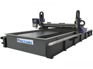 مصغرة آلة القطع بالليزر cnc / معتدل الصلب لوحة cnc آلة قطع البلازما