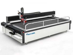 التصنيع باستخدام الحاسب الآلي المياه النفاثة آلة قطع درج المعادن المستخدمة قطع المياه