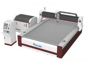 420mpa 3-axis آلة قطع اتيرجيت نقية للرغوة ، الجلود ، فيلم البلاستيك